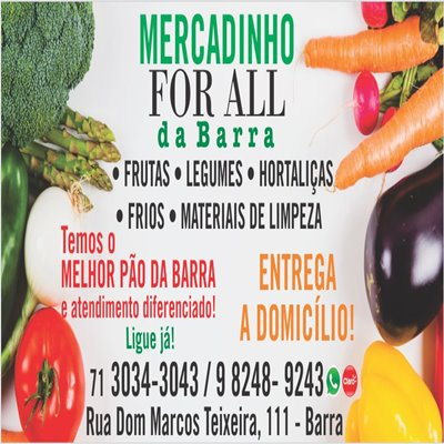 Mercadinho For All da Barra Salvador BA